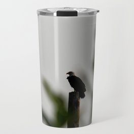 Eagle at Sunrise Travel Mug