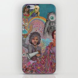 The Flaming Lips - Fear Of Slippery Brains, Electric Toasters & Evil Natured Robots From Outer Space iPhone Skin