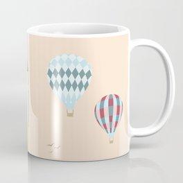 Traveling Tabbies: Hot Air Balloon Coffee Mug