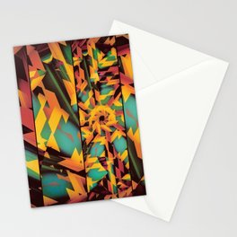 Delayed Impact Stationery Cards