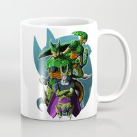 dbz Mugs featuring Cell by FeLipe Aquino