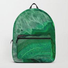 Green Emerald Agate Backpack