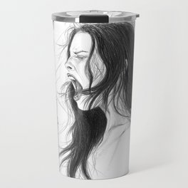 Pain into anger Travel Mug