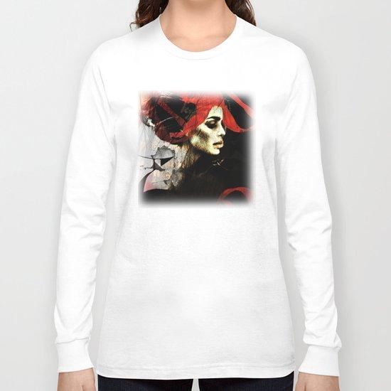 portrait of a dream Long Sleeve T-shirt