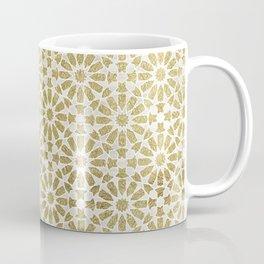 Hara Tiles Gold Coffee Mug