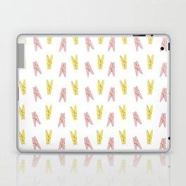 Pins hangers pattern Laptop & iPad Skin