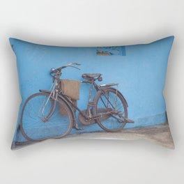 Indian Bicycle 2 Rectangular Pillow