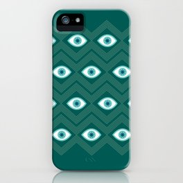 diamond eye iPhone Case