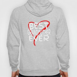 Best Grandmother Ever Love Heart Mother's Day T-Shirt Hoody