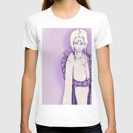 紫 の 君麻呂 (kimimaro in purple) T-shirt
