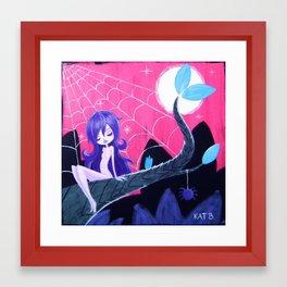 Spider Sprite Framed Art Print