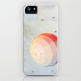 I found you falling from the sky iPhone Case