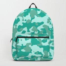 Camouflage Aqua Backpack