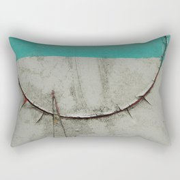 Keep quiet Rectangular Pillow