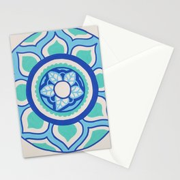 The Blue Mandala Stationery Cards