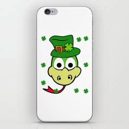 Leprechaun Snake- St. Patricks Day iPhone Skin