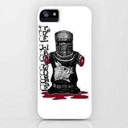 The Black Knight - Monty Python iPhone Case