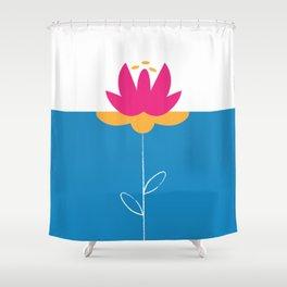 FlowerPower Shower Curtain
