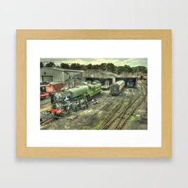 Tornado at Wansford Framed Art Print