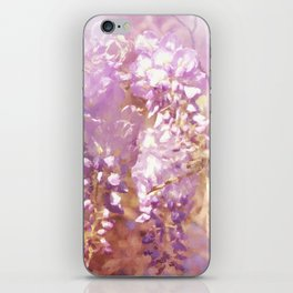 Romantic Wisteria iPhone Skin