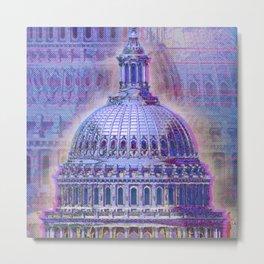 Washington Capitol Dome Metal Print