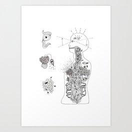 p i n e a l Art Print