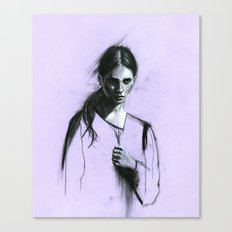 Cloaked Canvas Print