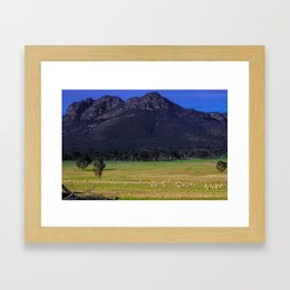 grampians area Framed Art Print