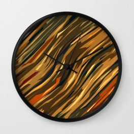 DRY JUNGLE Wall Clock