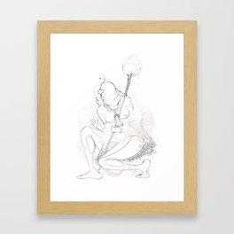 Sha Man Man Framed Art Print