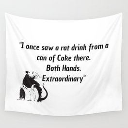killing eve quote art work Wall Tapestry