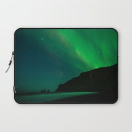 Night with the Northern Lights Laptop Sleeve