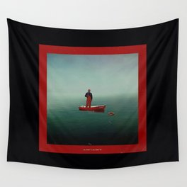 Boat Yachty Wall Tapestry