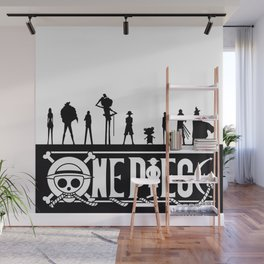 One Piece Pirates Wall Mural