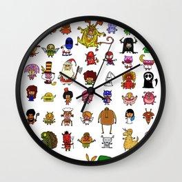 LittleWeirdos Wall Clock