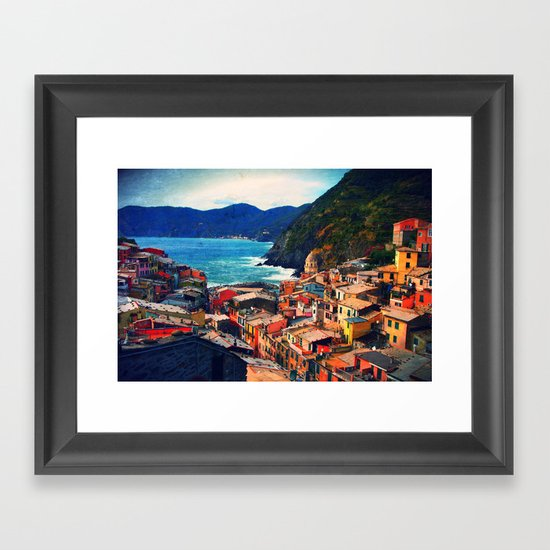 Coasting  Framed Art Print