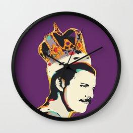 Freddie Pop-Art Quote Wall Clock
