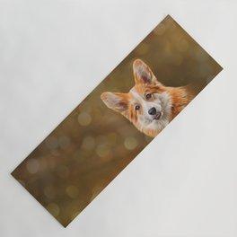 Drawing Dog breed Welsh Corgi Yoga Mat