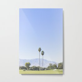 Twin Palms, Palm Springs Metal Print