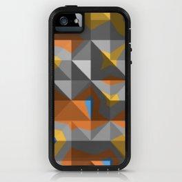abstract mountain range iPhone Case