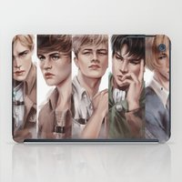 snk iPad Cases featuring SnK Boys by putemphasis
