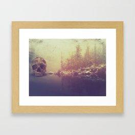 Dangerous Waters Framed Art Print