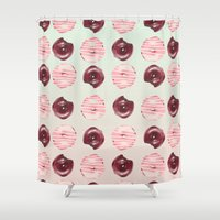 donuts Shower Curtains featuring Donuts!! by Oh Monday