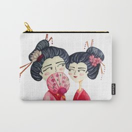 Pink Geishas Carry-All Pouch