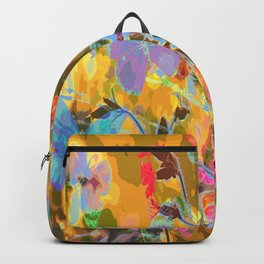 Butterflies flying in meadow - lovely colors and details - summer mood Backpack