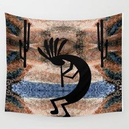 Kokopelli Southwest Desert Wall Tapestry