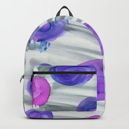 alcohol ink flowers vb Backpack
