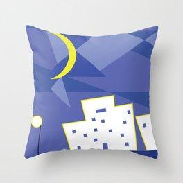 Moonlight Throw Pillow