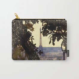 Patterns of Places - Eiffal Tower, Paris Carry-All Pouch