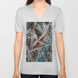 Broken pieces Unisex V-Neck